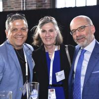 The Great Alumni Event 2018 - Dr. Piccininni, Dr. MacSween and Dean Haas