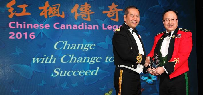 image of jim lai receiving award