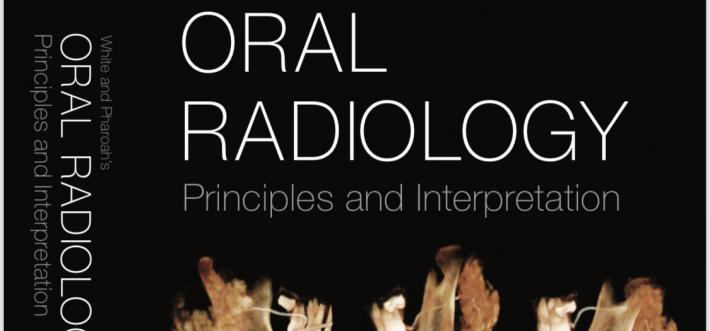 oral radiology textbook cover detail