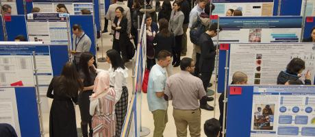students at Research Day 2018